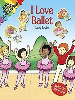 I Love Ballet (Dover Coloring Books)