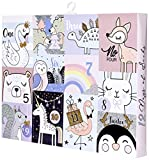Jacques Moret Girl's Advent Box, Assorted Pink,...