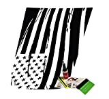 USA Diecut Hoot Decal USA Flag Blackout trailhawk Style Matte Black Finish fits 2015+ Renegade Comes with Free Install kit