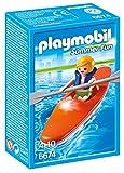 PLAYMOBIL - Summer Fun Niño con Kayak Playsets de Figuras de jugete (6674)