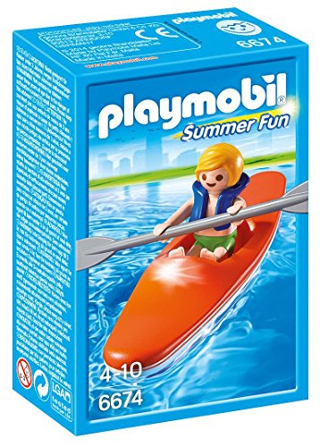 Playmobil - 6674 - Summer Fun - Enfant Et Kayak