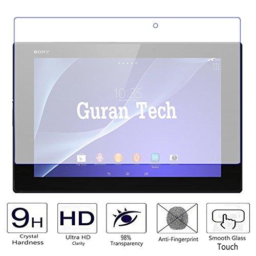 Guran® Protector de Pantalla Vidrio Cristal Templado para Sony Xperia Tablet Z2 SGP511 (10.1pulgada) Tablet-PC Film
