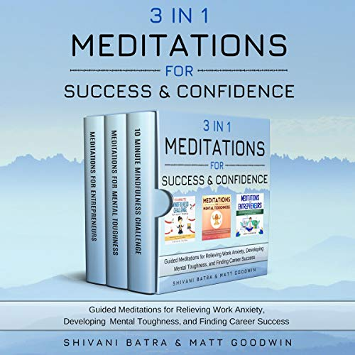 3 IN 1: Meditations for Success & Confidence cover art