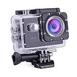 Rtaneey Action Kamera Wasserdicht 4K Full HD 16MP WiFi Sports Cam 2' LCD 30M Unterwasserkamera...