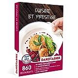 DAKOTABOX - Cuisine et prestige - Coffret Cadeau Gastronomie - 1 menu savoureux avec ou sans boissons pour 2 personnes