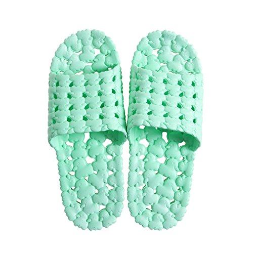 AAPP SHOP Zomer badkamer bad lekkende anti-slip sandalen en slippers huis binnen paar thuis schoenen mannen en vrouwen plastic platform slippers