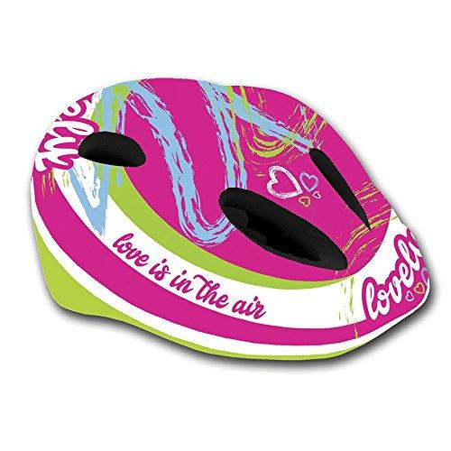 MV-TEK Casco de ciclismo para niña, talla M 48-52 (cascos Junior)