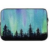 15-Zoll-Laptop-Schutz-Tragetasche Handgezeichnete Aurora Polaris Notebook-Hülle Tasche Tasche