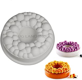 UG LAND INDIA 3D Silicone Cherry Bubble Crown Cake Mold Chocolate Mousse Baking Decorating Entremet Mould