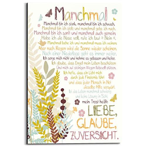 REINDERS Manchmal - Wandbild 60 x 90 cm