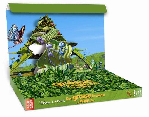 Das große Krabbeln (3D-Pop-Up-Box) [Special Edition] [2 DVDs]