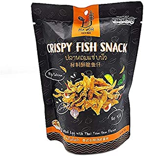 CRISPY FISH SNACK (Salted Egg with Thai Tom Yum Flavor)