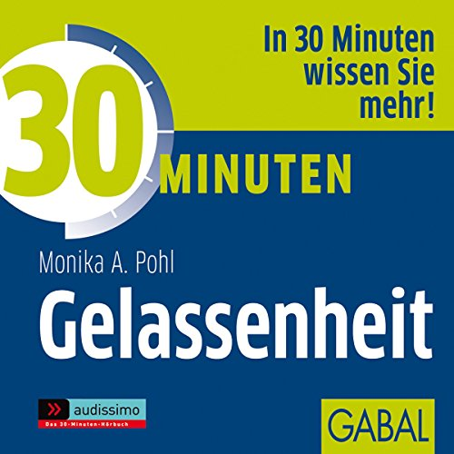 30 Minuten Gelassenheit audiobook cover art