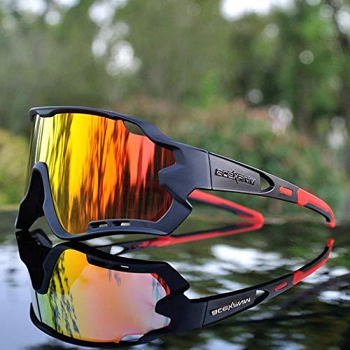 Gafas De Sol Nuevas Gafas De Ciclismo Polarizadas Gafas De Ciclismo De Bicicleta De Montaña Gafas De Ciclismo para Deportes Al Aire Libre Gafas De Sol Uv400 Jfu1