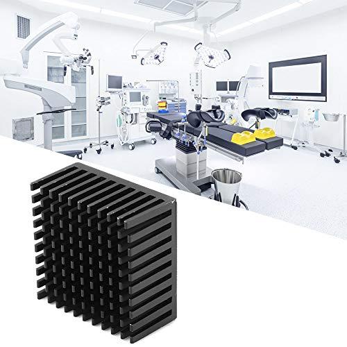 Shipenophy Disipador de Calor de radiador confiable de Aluminio para Raspberry Pi Raspberry(Black)