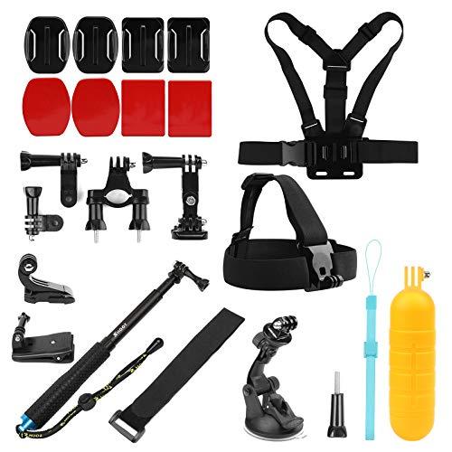 SHOOT Sport Kamera Zubehör Set Lextreme Alle in 1 Zubehör Kit für Gopro Hero 8 7 6 5 4 3 SJ4000 SJ5000 SJ6000