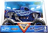 Monster Jam Blue Thunder Monster Truck, vehículo Fundido a presión, Escala 1:24