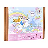 jackinthebox Unicorn Gifts for Girls | 6-in-1 Premium Craft Kit | Arts and Crafts for Girls Aged 5 6 7 8 9 10 Years