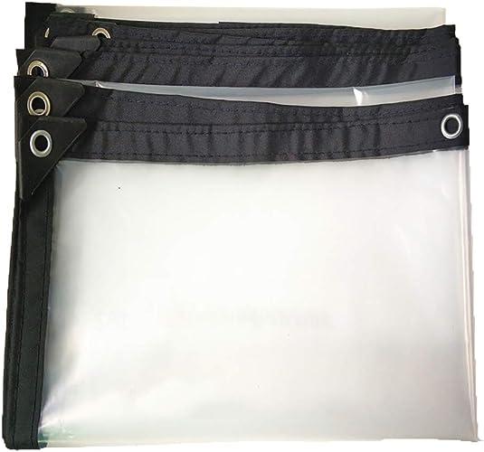 Z&YY Bache Claire de bache Coupe-Vent de Toit, Feuille de Sol extérieure d'isolation Couvrant Le Tissu versé avec des Oeillets (PE 120g  )