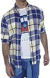 Altonadock PV18275020617 Camisa Casual, Multicolor (Cuadros), Large (Tamaño del Fabricante:L) para Hombre