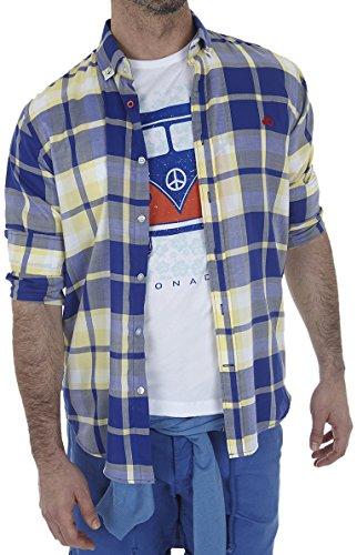 Altonadock PV18275020617 Camisa Casual, Multicolor (Cuadros), XX-Large (Tamaño del Fabricante:XXL) para Hombre