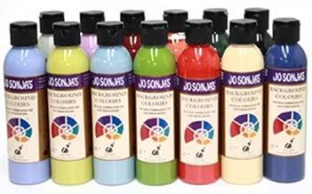 Poppy Jo Sonja Clear Collection Background Artist Acrylic 6oz Bottle