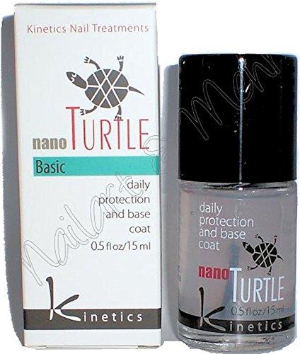 kinetics Nano TURTLE Nail Treatment 15ml: Tägliche Pflege und BASE-COAT in einem