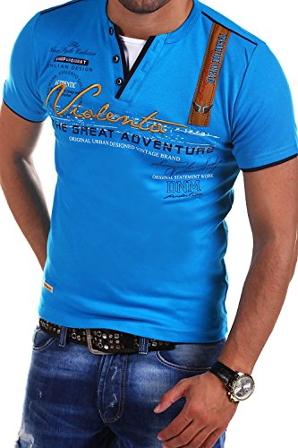 MT Styles 2in1 T-Shirt Adventure R-2693 [Blau, L]
