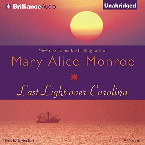 Last Light over Carolina audiobook cover art