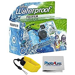 in budget affordable FUJIFILM Quick Snap 35mm Waterproof Disposable Camera | Floating Foam Tape (Yellow)
