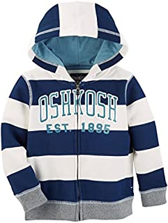 OshKosh B'Gosh Baby Boys' Full Zip Logo Hoodie
