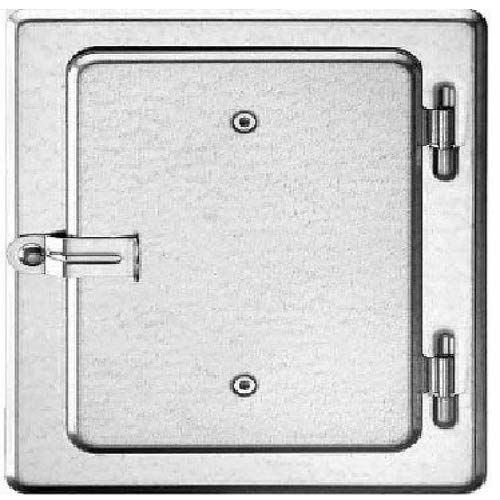 Upmann 10108 Kamintür K10/4 V2A 12x18 DRUCK: