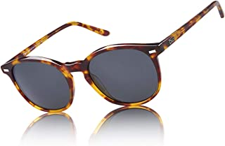 Classic Polarized Sunglasses for Women Round Vintage Shades DC1230