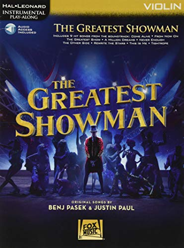 The Greatest Showman: Instrumental Play-Along Series for Violin (Hal Leonard Instrumental Play-Along)