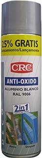 CRC - Spray Imprimación De Zinc Más Color En Un Sólo Producto.Antioxido Ral 9006 Plata 500 Ml