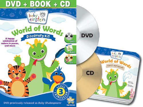 Baby Einstein: World of Words Discovery Kit (DVD / CD / Board Book)