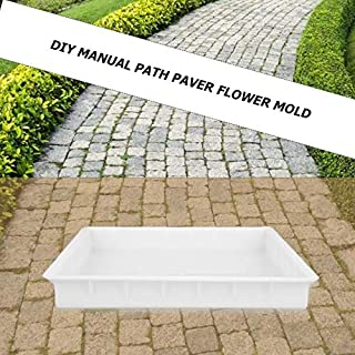 AquatMold Stepping Stone Molds - DIY Paving Mould Home Garden Road Concrete Stepping Driveway Stone Path Mold Walkway Pavement Mould