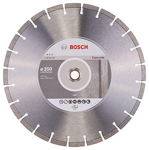 Bosch Professional Diamanttrennscheibe (für Beton, Ø: 350 mm, BohrungØ: 20 mm, Zubehör für Benzinsägen und Tischsägen)