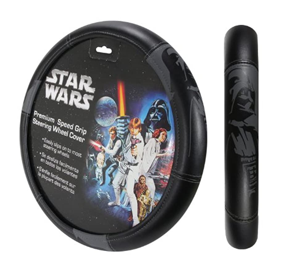 Plasticolor 006736R01 Star Wars Darth Vader Steering Wheel Cover