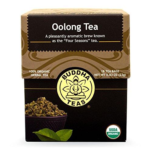 Buddha Teas Oolong Tea, 18 Count (Pack of 6)