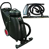 Viper Cleaning Equipment SN18WD Shovelnose 18 gal Wet/Dry Vacuum, 24' Cleaning Path, 2 10'...