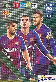 f96f71b60 Luis Suárez Philippe Coutinho Lionel Messi Barcelona 2019 Panini Adrenalyn  XL FIFA 365 Attacking