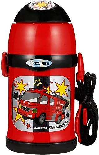 HQQ Tasse pour enfants avec paille, double usage, tasse pour bébé (Couleur   rose)
