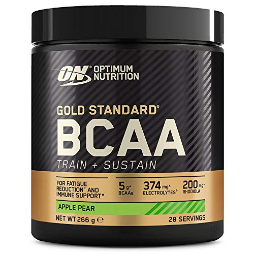 Optimum Nutrition Gold Standard BCAA, Amino Acid Powder, Vitamin C with...