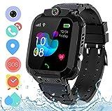Kids Smart Watch Phone for Girls Boys - IP67 Waterproof GPS Tracker Locator