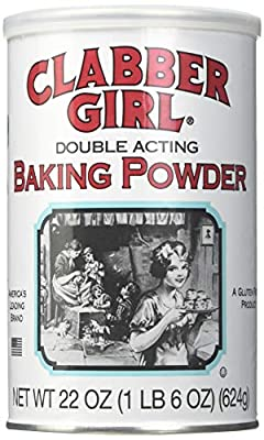 Clabber Girl Baking Powder 22 oz can