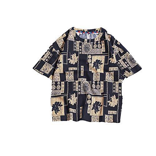 NOBRAND T-shirt met korte mouw voor heren los groot