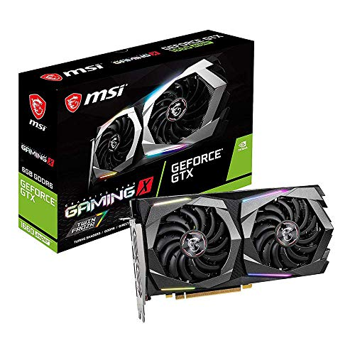 MSI Gaming GeForce GTX 1660 Super 192-bit HDMI/DP 6GB GDRR6 HDCP Unterstützung DirectX 12 Dual Fan VR Ready OC Grafikkarte (GTX 1660 Super Gaming X)