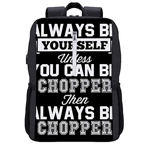 Always Be Yourself Tony Chopper Rucksack mit USB-Ladeanschluss