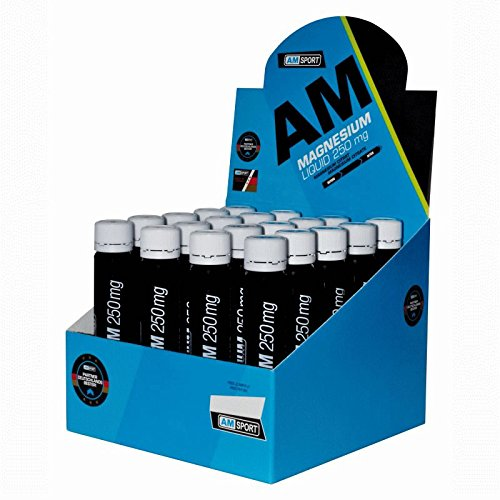 AM Sport Magnesium Liquid 250mg Box 20x25ml Ampulle